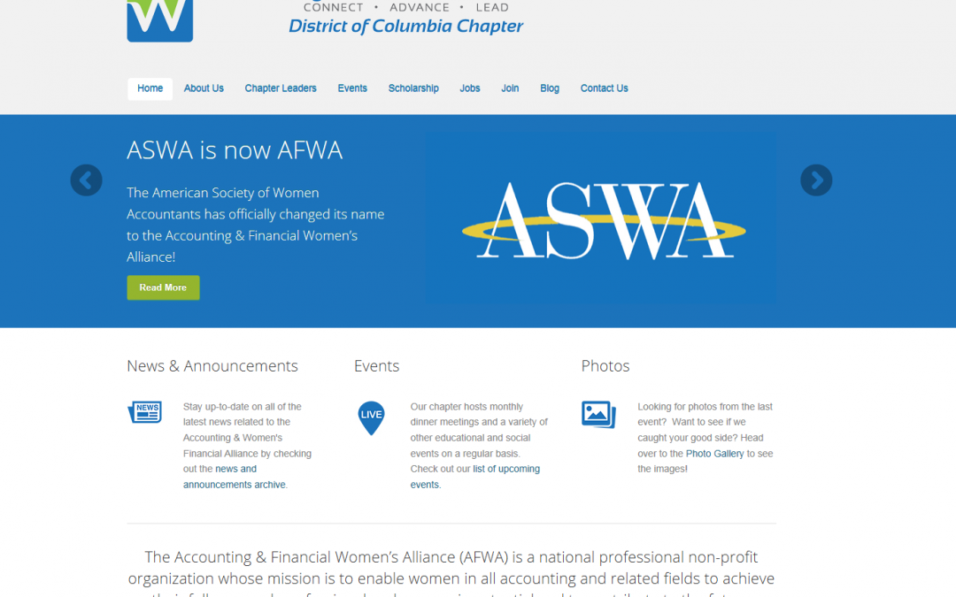 Accounting & Women's Financial Alliance