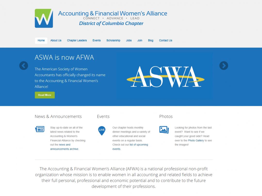 Accounting & Women's Financial Alliance