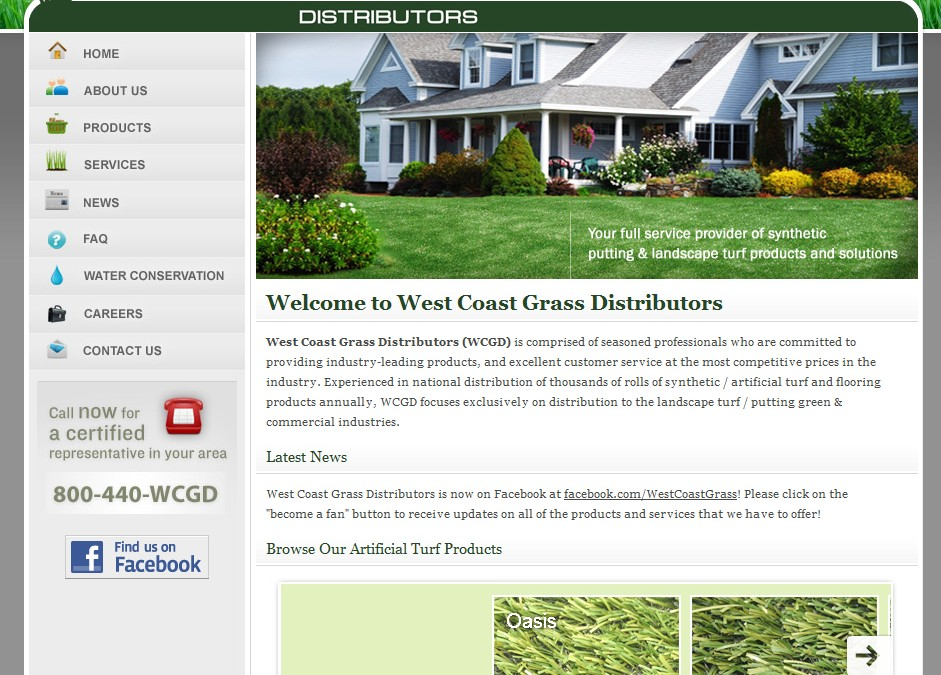 West Coast Grass Distributors