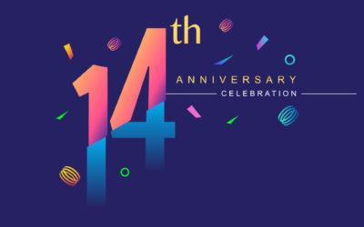 Happy 14th Birthday to us!