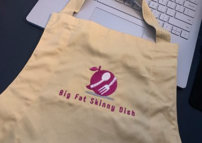 Big Fat Skinny Dish Apron